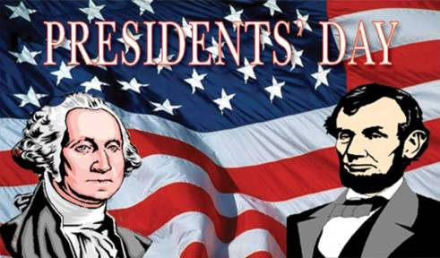 Presidents-Day-George-Washington-And-Abraham-Lincoln-With-American-Flag-In-Background