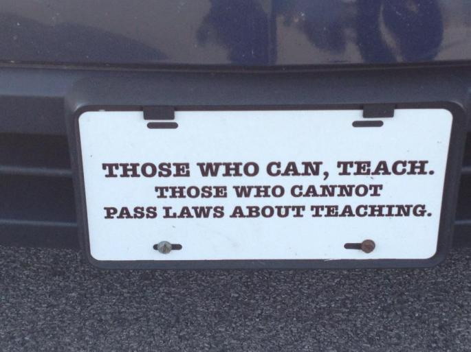 laws about teaching
