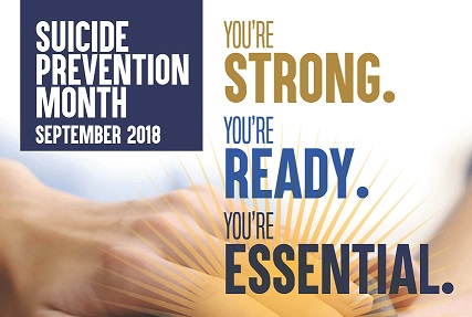 2018 Suicide Prevention Poster