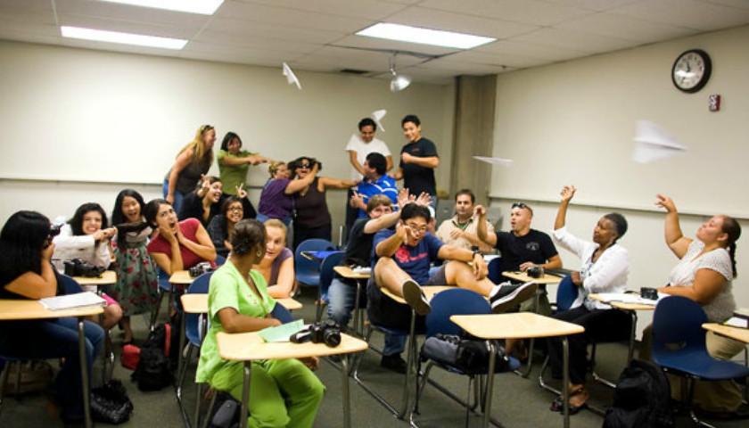 Misbehaving-students